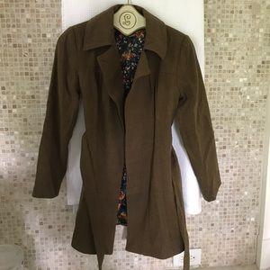 Tucker Jackets & Blazers - Tweed Trench Coat
