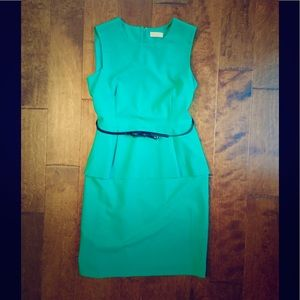 Calvin Klein Dresses & Skirts - GORGEOUS green/teal Calvin Klein dress. Size 12