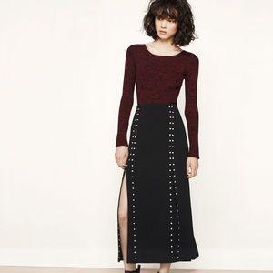 Maje Dresses & Skirts - Maje studded skirt