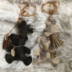 Louis Vuitton Accessories - Bundle Deal! 2 teddy bear keychains 🐻