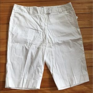 The Limited Pants - The Limited White Bermuda Shorts-Cassidy Fit Sz 12