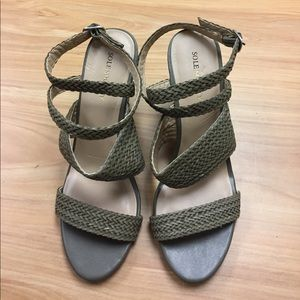 Sole Society Green Wedges