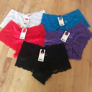 Grace Other - Boy shorts lace underwear