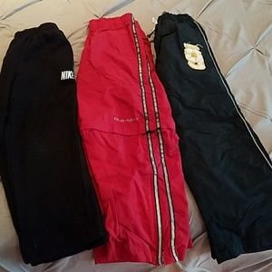 Nike Other - 3 pairs of boys athletic pants