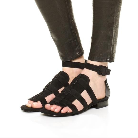 a878bb03993 Alexander Wang Shoes - Alexander Wang suede Mallory gladiator sandals