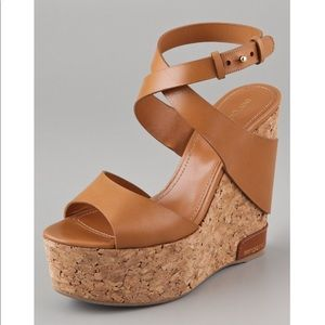 Sergio Rossi Shoes - Sergio Rossi Platform Sandals Sz 7.5