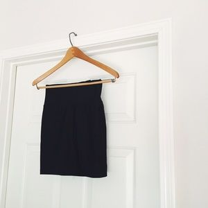 {f21} 🌿 black bodycon pencil skirt