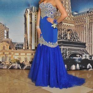 Alyce Paris Dresses & Skirts - Alyce Paris Blue dress