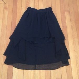Staring at Stars Dresses & Skirts - High low black skirt