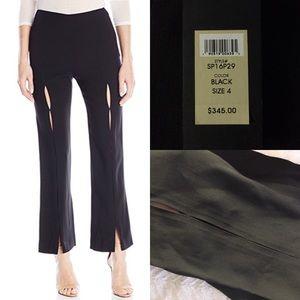 Rachel Zoe Pants - Rachel Zoe Yvette black pant with cutouts slit 4