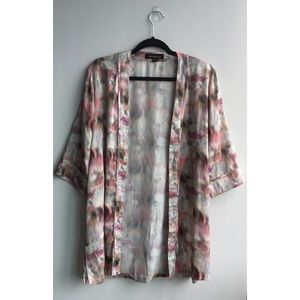 Whitney Eve Sweaters - Watercolor Kimono