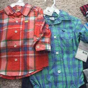 Carter's Other - 14 piece 9 month boy summer clothing bundle