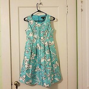 Jessica Howard Dresses & Skirts - JESSICA HOWARD TEAL FLORAL DRESS
