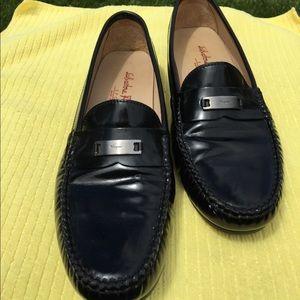 Salvatori Ferragamo patent loafers