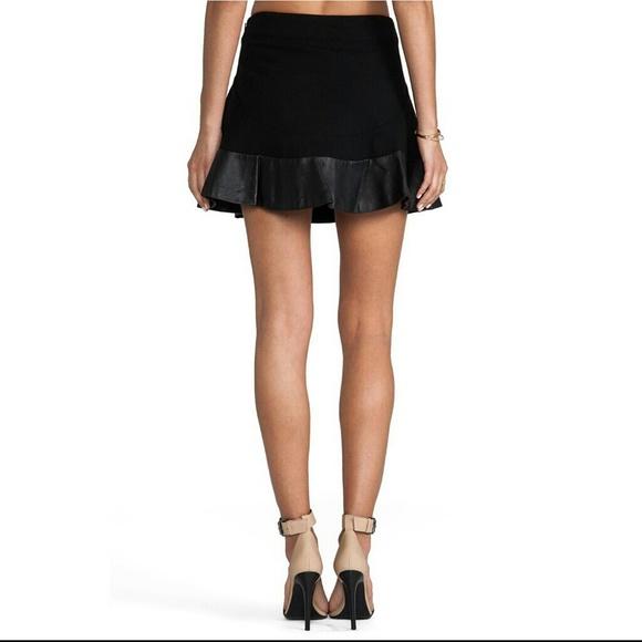 Diane Von Furstenberg Leather Skirt 73