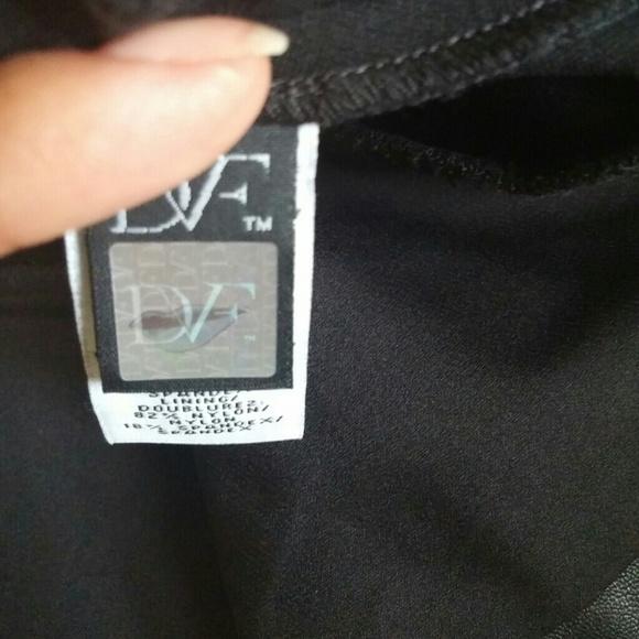 Diane Von Furstenberg Leather Skirt 69