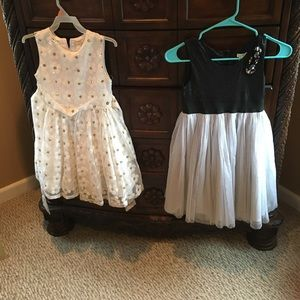 Children's Place Other - two girls party dresses for Price of one size 6X7