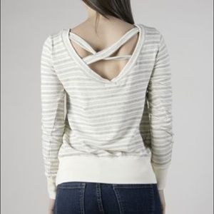 LAmade Tops - La Made cross back pullover