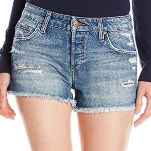 Joe's Jeans Pants - Joe's Wasteland High Rise Jean Shorts in Steph