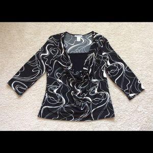 Woman's Claudia Richard blouse.