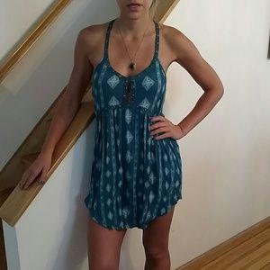 Amuse Society Dresses & Skirts - Amuse society teal dress, worn ONCE