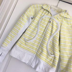 lululemon athletica Tops - Fun Lulu hooded sweatshirt.