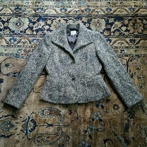 Armani Collezioni Wool Alpaca Mohair Blend Jacket