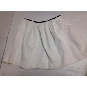 European naf naf white tennis skirt