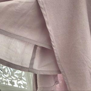 42326d3d555a3 Style Link Miami Dresses   Light Pink Muave Front Tie Mini Dress ...