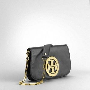 Tory Burch Handbags - Tory Burch Amanda Leather Crossbody/ Clutch Bag