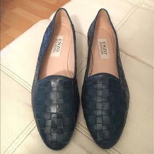 Leather Enzo Angiolini flats. Size 8.5