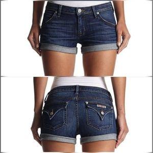 Hudson Jeans Pants - Hudson Hampton Cuffed Shorts in Enlightened