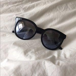 Barton Perreira Accessories - Mirrored Barton Perreira Baez Sunglasses