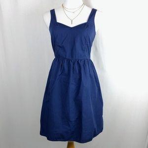 Red Camel Dresses & Skirts - Navy Blue Fit & Flare Sundress w/ Pockets 4th July
