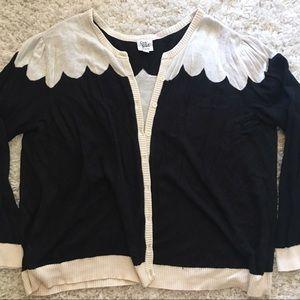 Modcloth Sweaters - ModCloth Scalloped Cardgian