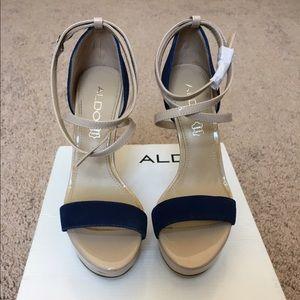 NEW Aldo strappy heels