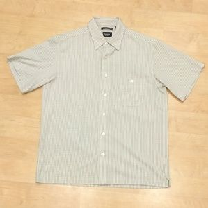 Haggar Other - Beige Short Sleeve Button Down