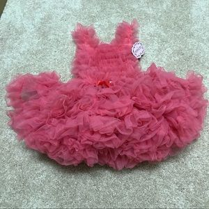 Popatu Other - NWT Popatu 18 month ruffled pink bodysuit
