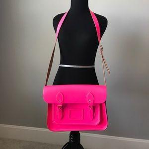 The Cambridge Satchel Company Handbags - Neon Pink Cambridge Satchel