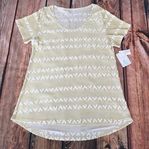 LuLaRoe Classic T-Size XL Jacquard Fabric