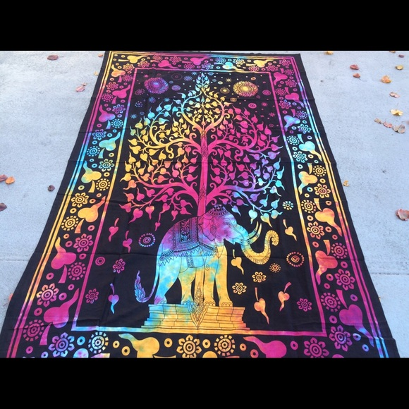 64 Off Other 💓beach Towel Yoga Meditation Hippy Home