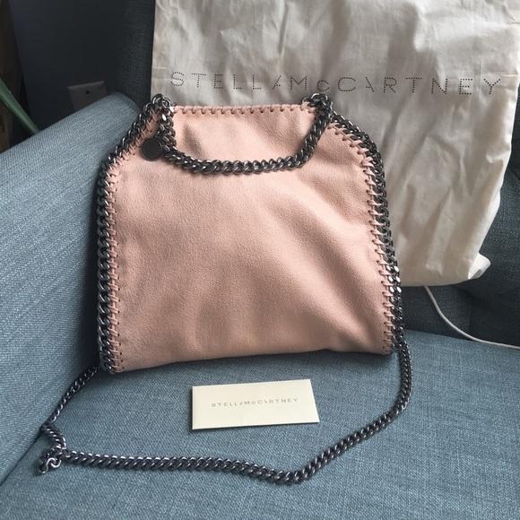 4cce728d8520 Stella McCartney Mini Falabella Bag in Powder