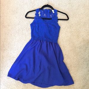 H&M Royal Blue Sundress