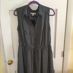 Sejour Dresses & Skirts - Sejour black gingham dress