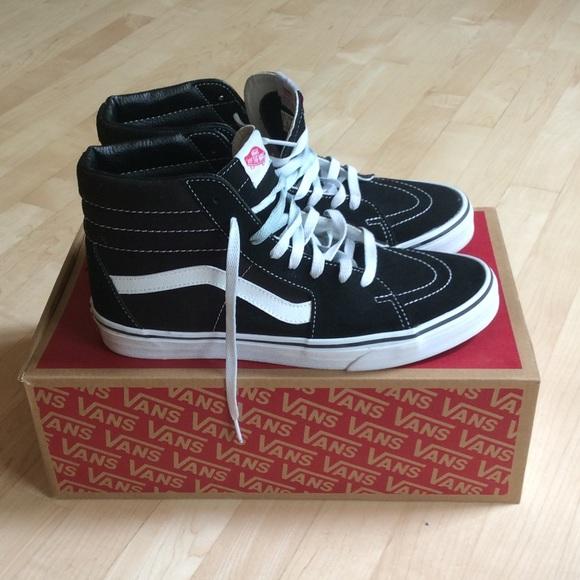 fe24678380 Reserved Vans SK8-HI hightop men s sneakers sz 10.  M 594d7bc3620ff704920246fd