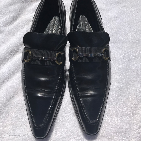 Dolce Gabbana Mens Dress Shoes Size