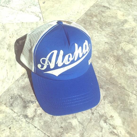 a760d1bd Billabong Accessories | Aloha Forever Trucker Hat | Poshmark