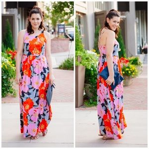LOFT Dresses & Skirts - Ann Taylor LOFT Full Bloom Floral Maxi Dress