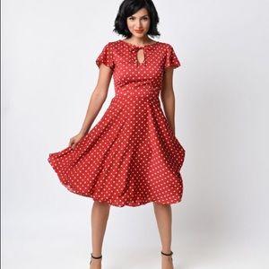 Modcloth Dresses & Skirts - Unique Vintage 1940s Style Formosa Swing Dress