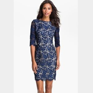 Eliza J Dresses & Skirts - Eliza J Royal Collection Embroidered Lace Dress